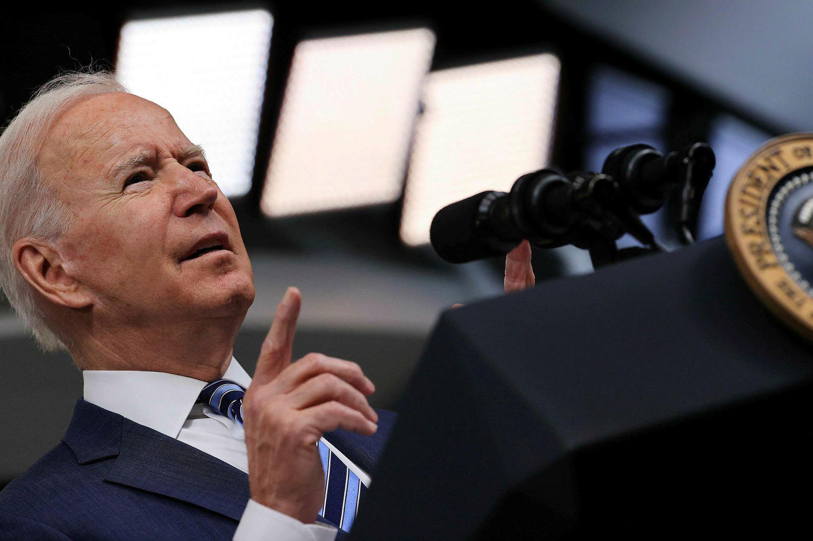 Joe Biden Bandaríkjaforseti