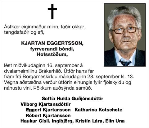 Kjartan Eggertsson,