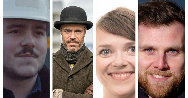 Villi Net, Eiríkur Örn, Lilja Katrín og Stjörnu-Sævar tóku þátt í umræðu um glataðar borgir.