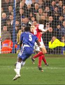 Fimm stórkostleg mörk hjá Arsenal og Chelsea (myndskeið)