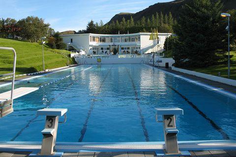 Laugaskarð Swimming pool