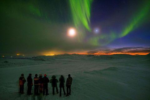 Fólk hefur afbókað norðurljósaferðir hingað til lands.