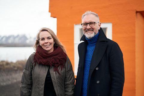 Sigríður Ólafsdóttir og Eiríkur Björn Björgvinsson, frambjóðendur Viðreisnar í Norðausturkjördæmi.