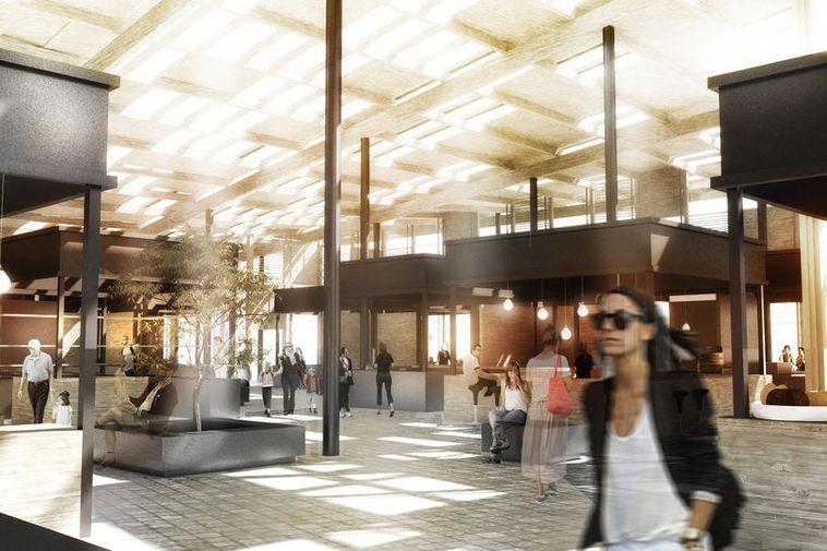 Architect Snædís Bjarnadóttir made Hlemmur the subject of her MA project. Her ideas fit well …