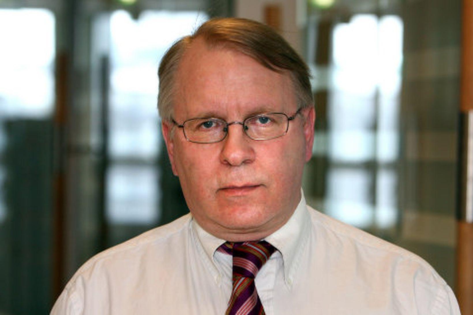Vilhjálmur Egilsson, framkvæmdastjóri Samtaka atvinnulífsins.