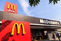 McDonalds í Svíþjóð býður nú upp á Happy Meal fyrir eldri borgara.