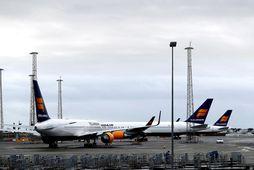 Icelandair flýgur nú aðeins brotabrot af upphaflegri áætlun.