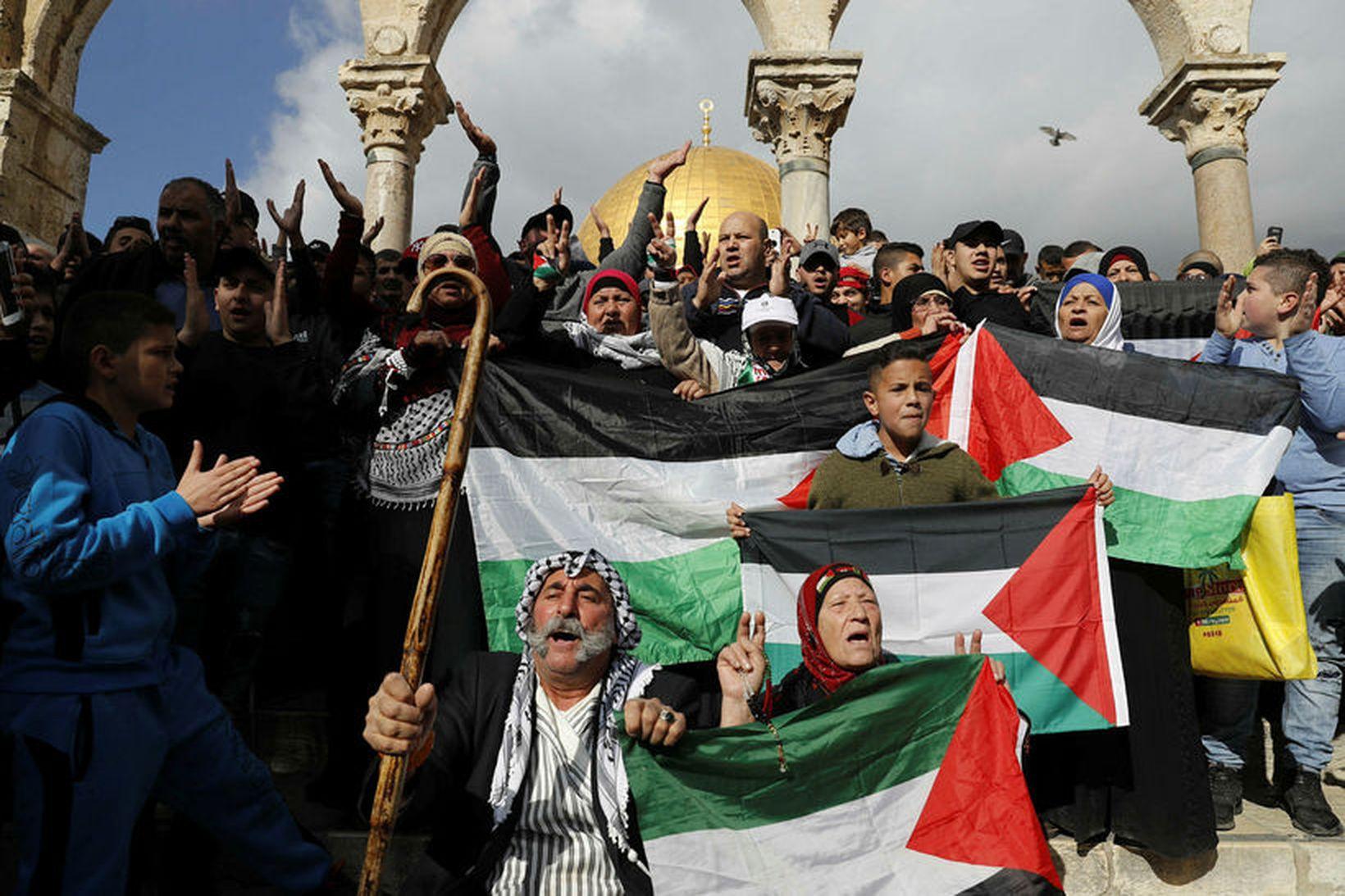 Palestínuflóttamannaaðstoð Sameinuðu þjóðanna (UNRWA) styður við yfir fimm milljónir palestínskra …