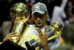 Kobe Bryant var einn besti körfuboltamaður allra tíma.