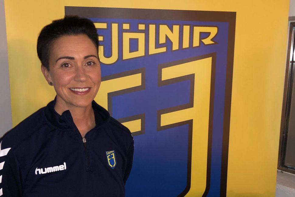Helena Ólafsdóttir er orðin þjálfari Fjölnis.