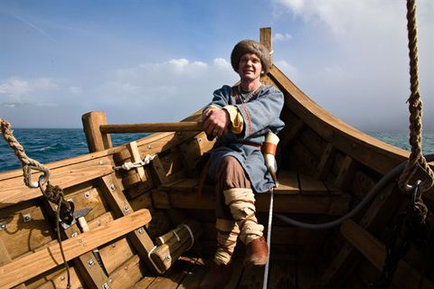 Valdimar Elíasson - The Viking Ship in Dýrafjörður