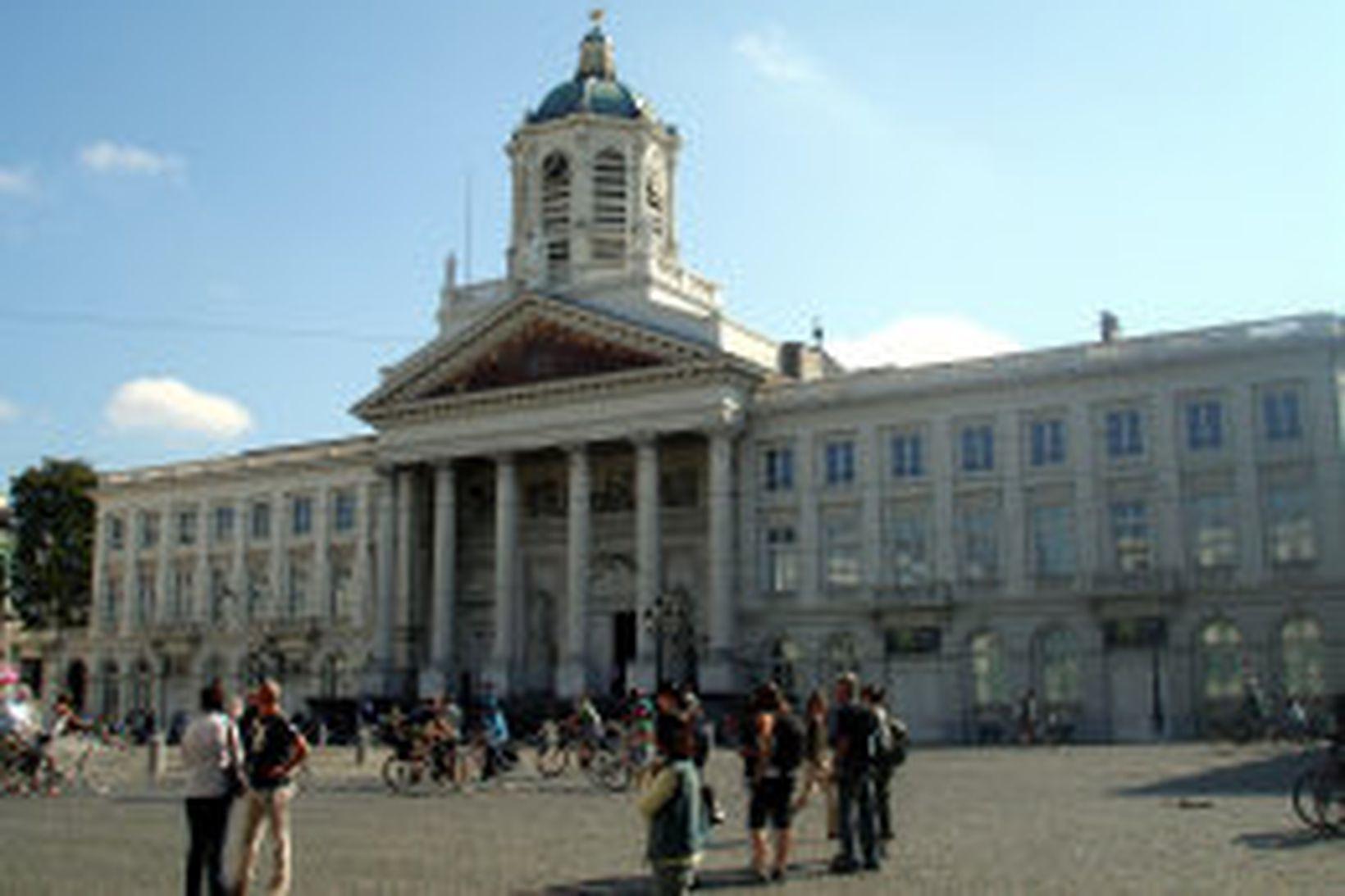 Konungshöllin í Brussel.
