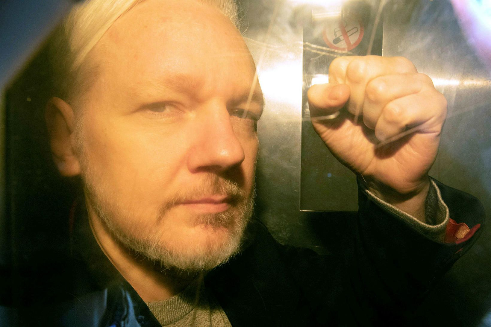 Stofnandi Wikileaks, Julian Assange.