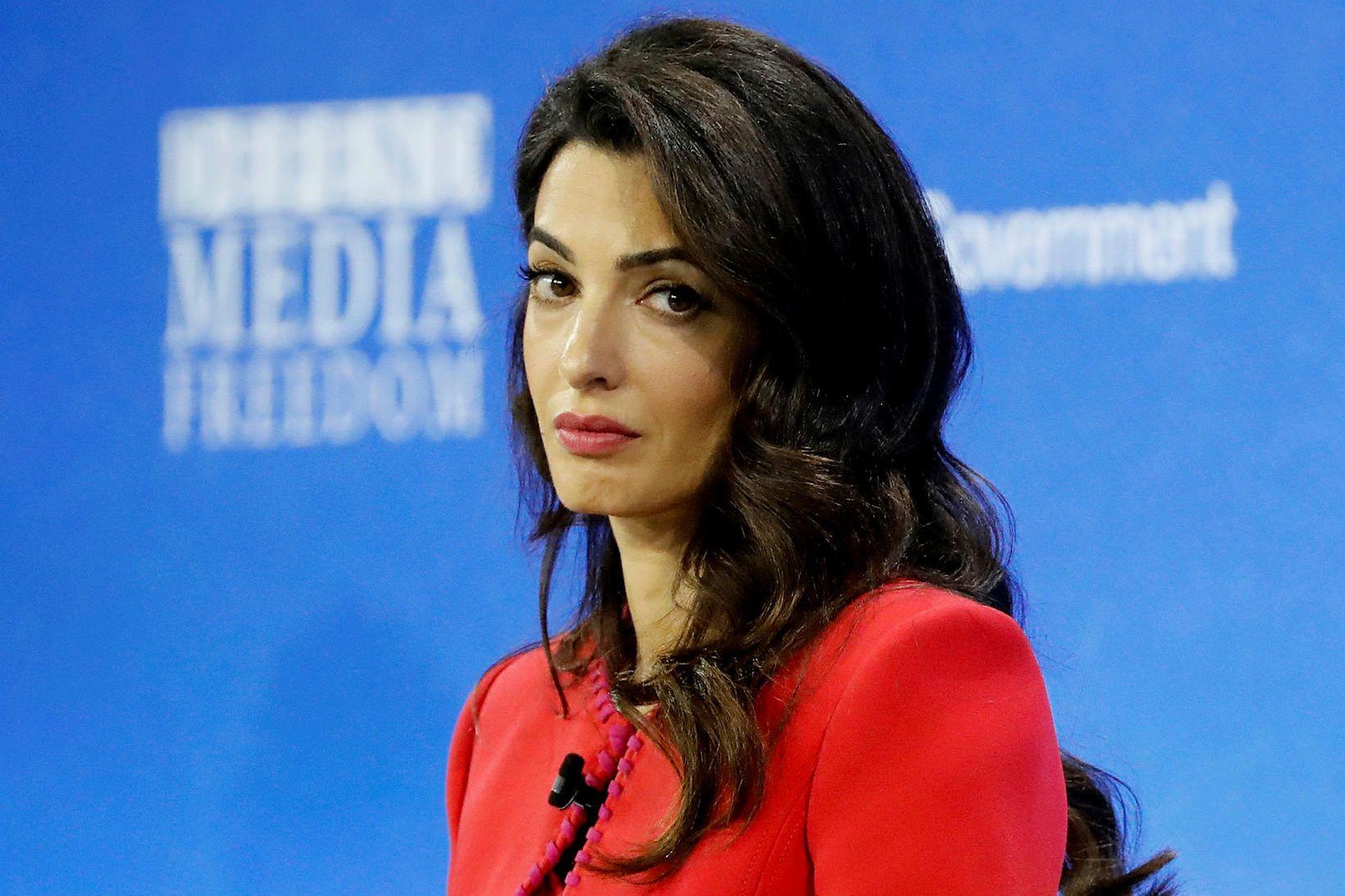Mannréttindalögfræðingurinn Amal Clooney.