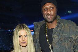 Khloé Kardashian og Lamar Odom.