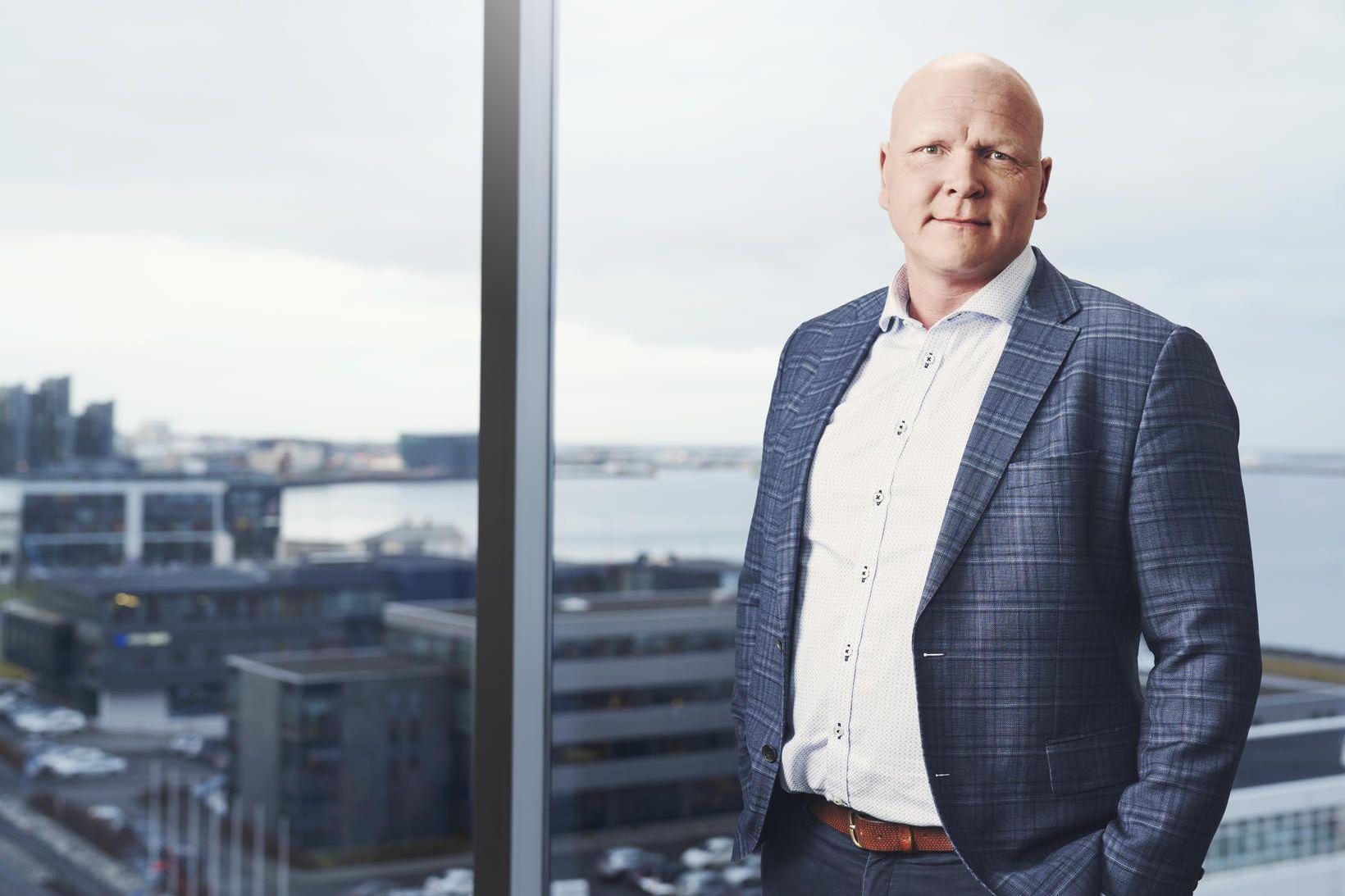 Kjartan Örn Sigurðsson, framkvæmdastjóri SRX.