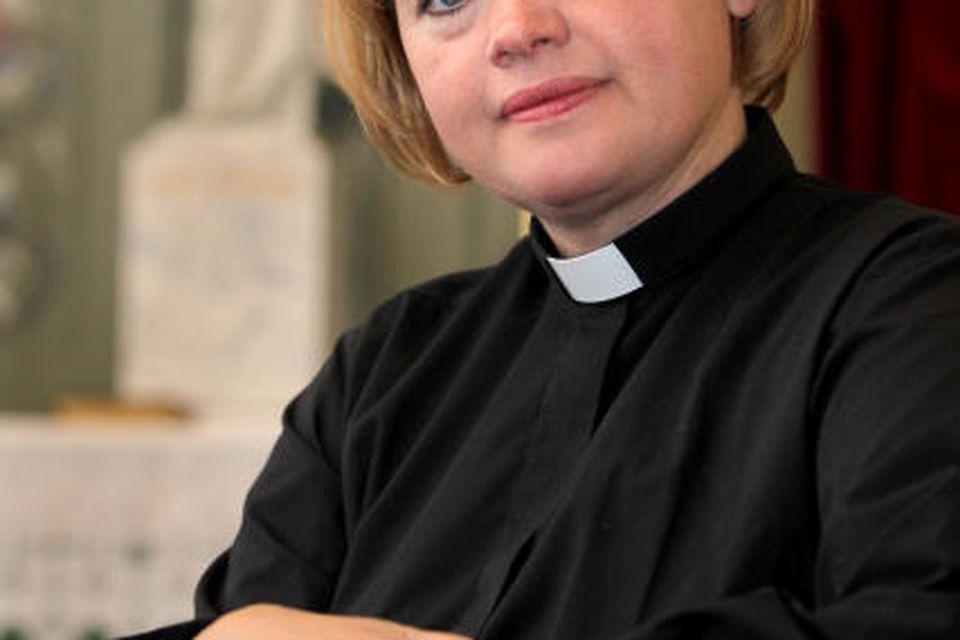 Ásta Ingibjörg Pétursdóttir, sóknarprestur í Bolungarvík.