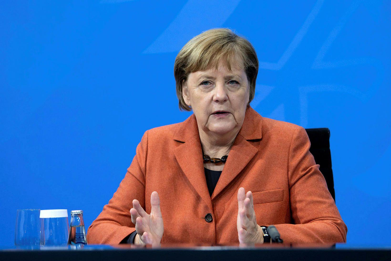 Angela Merkel, kanslari Þýskalands, telur þróunina óheillavænlega.