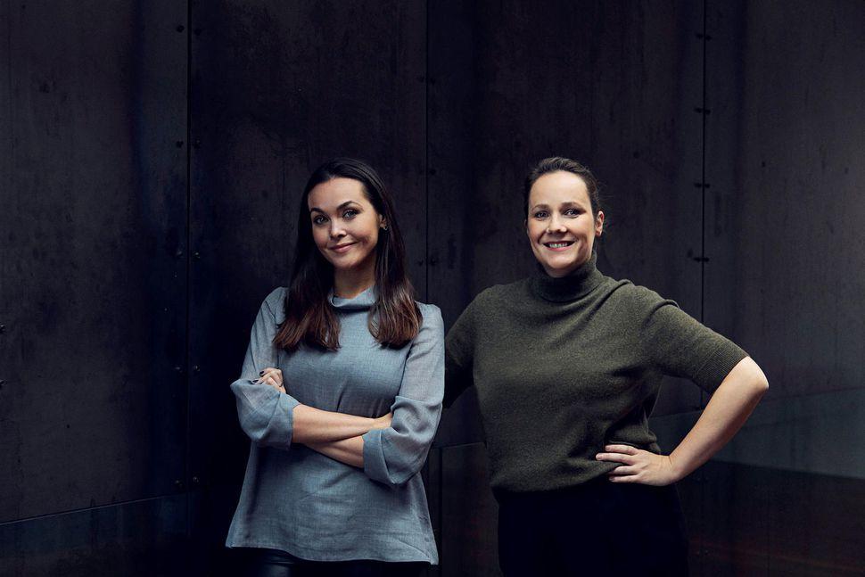 Tinna Pétursdóttir og Guðrún Ansnes