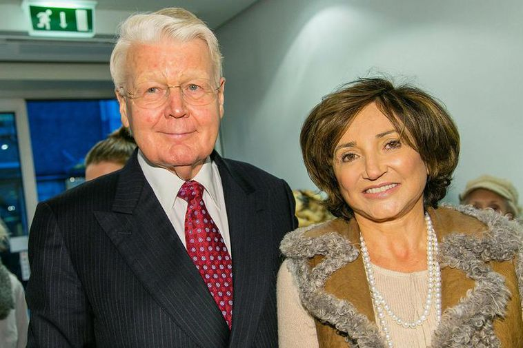 Ólafur Ragnar Grímsson, former president of Iceland, and Dorrit Moussaieff, former first lady.