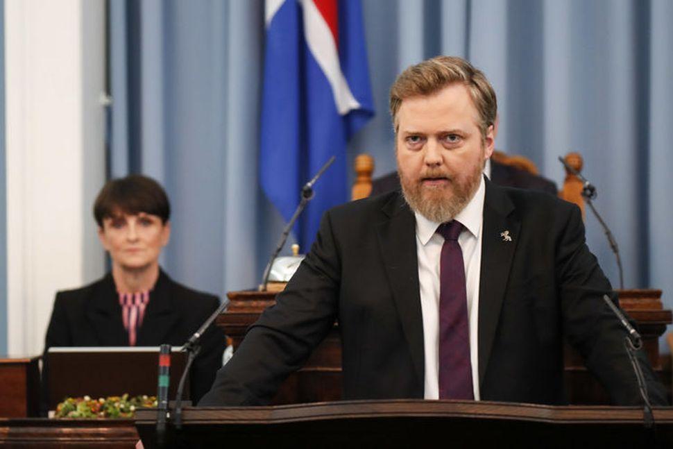 Sigmundur Davíð Gunnlaugsson, formaður Miðflokksins, skaut fast á sinn gamla ...