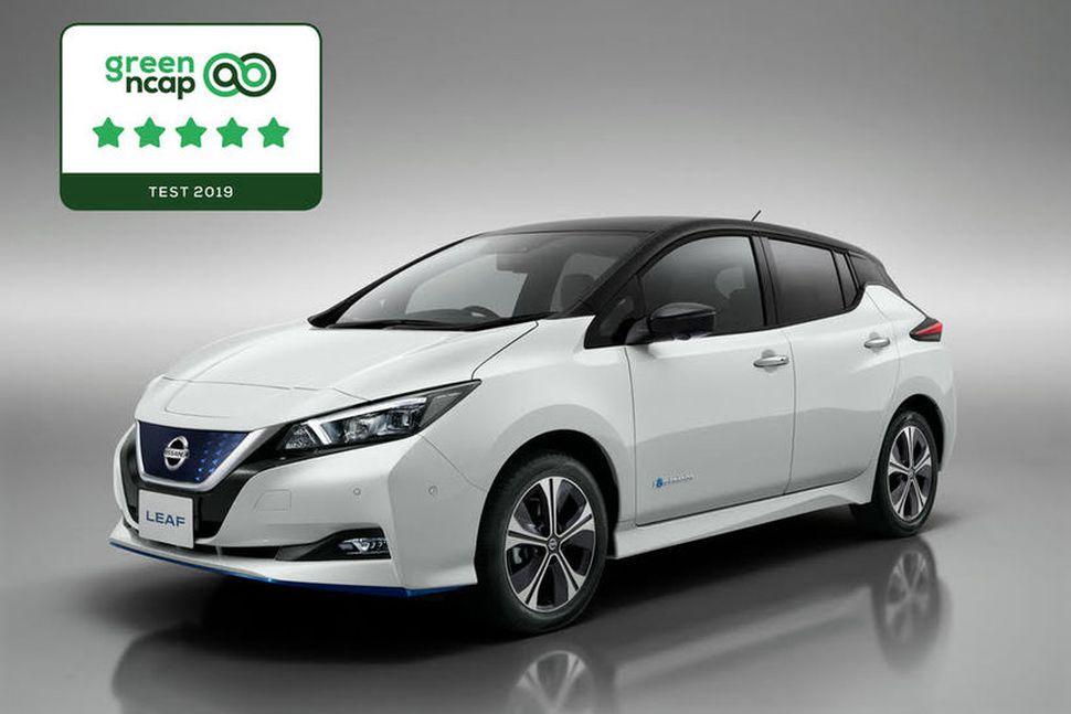 Nissan Leaf grænasti rafbíllinn að mati Green NCAP.
