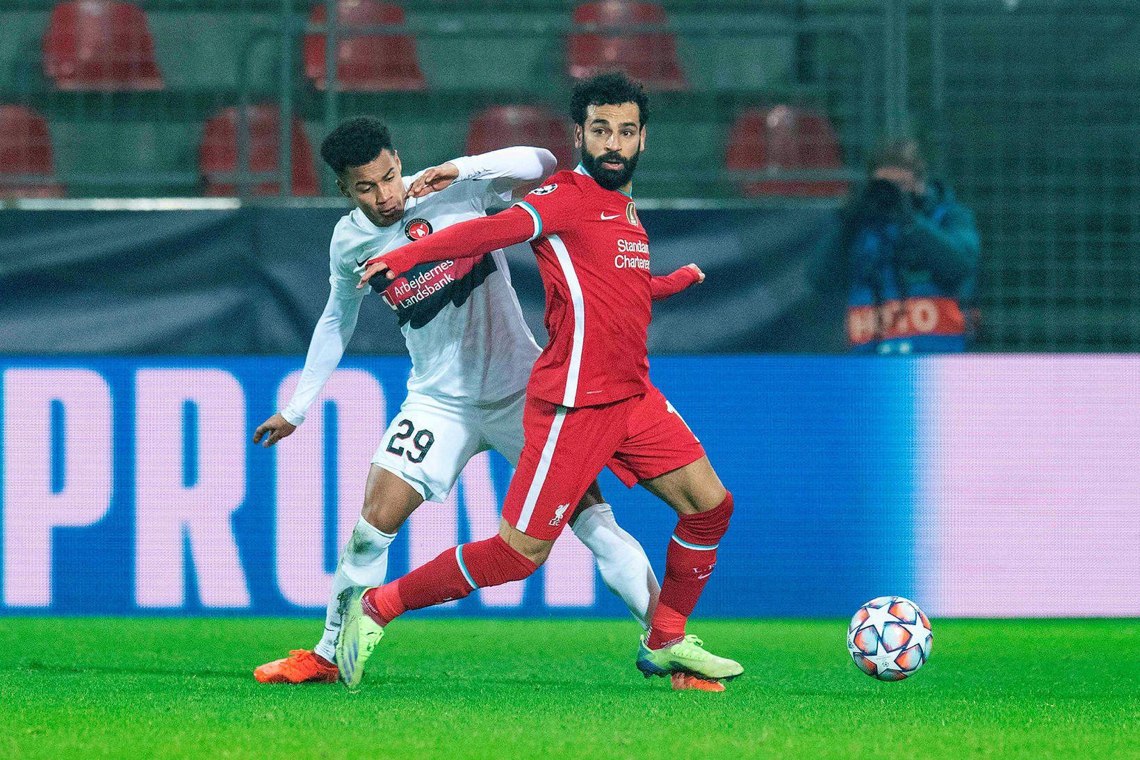 Mo Salah er lykilmaður hjá Liverpool.