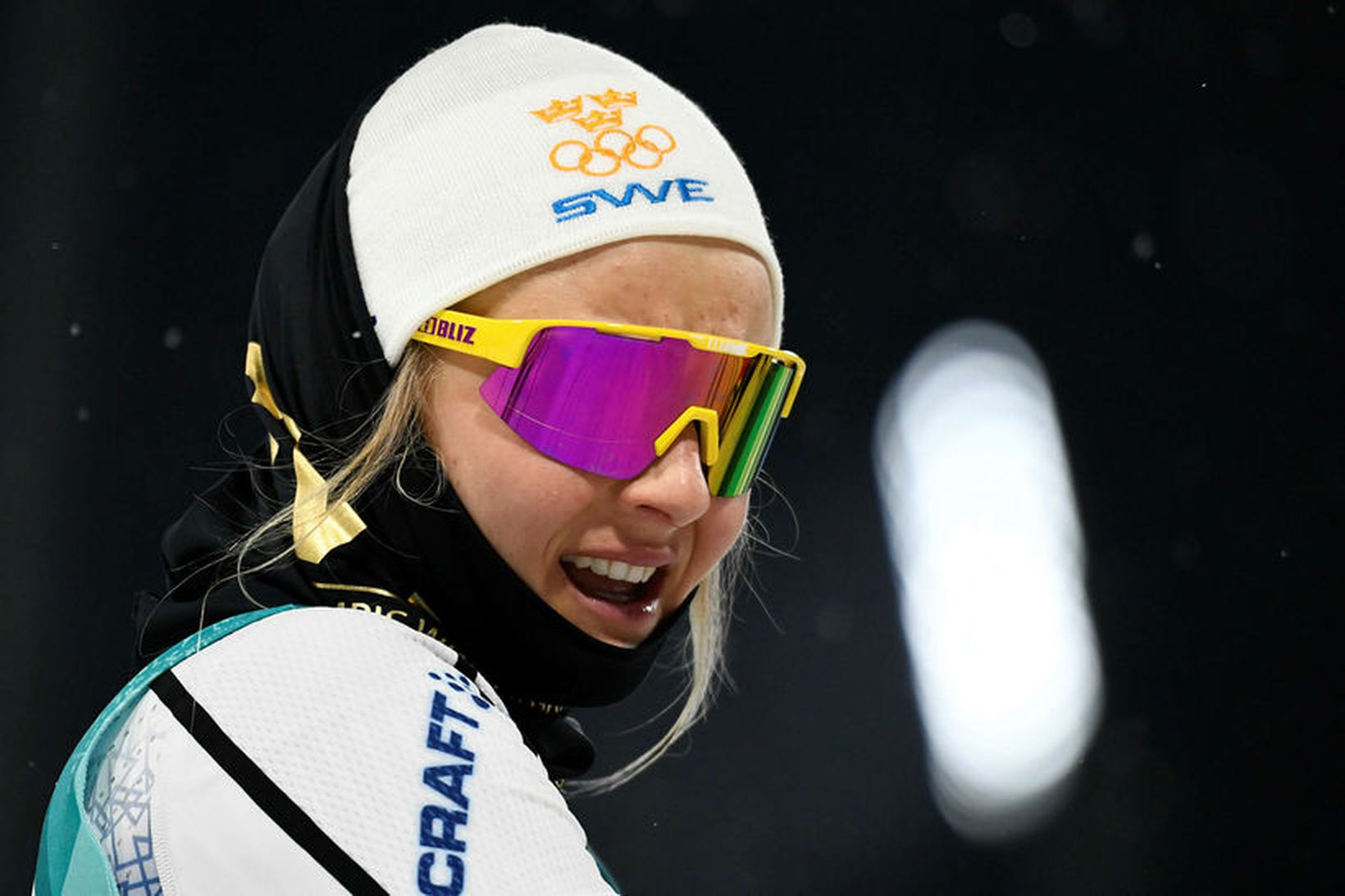Stina Nilsson vann til gullverðlauna á Ólympíuleikunum í Pyeongchang í …