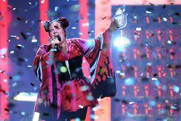 Netta vann Eurovision þegar hún flutti lagið Toy í Portúgal í fyrra.