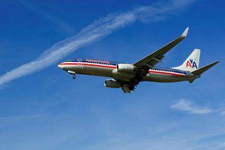 Farþegaþota á vegum bandaríska flugfélagsins American Airlines.