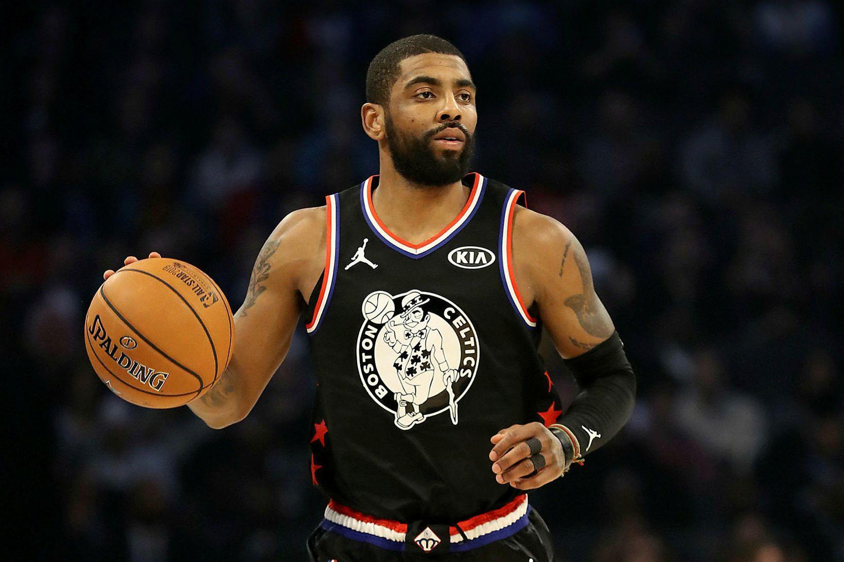 Kyrie Irving er ein af stjörnum NBA.