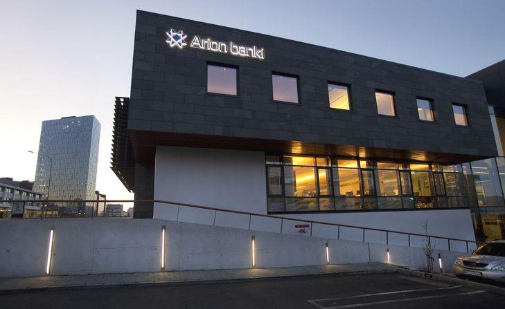 Arion Banki Borgartúni