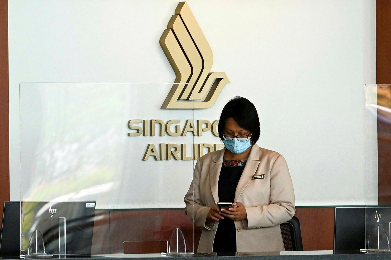 Uppátæki Singapore Airlines lagðist misvel í fólk.