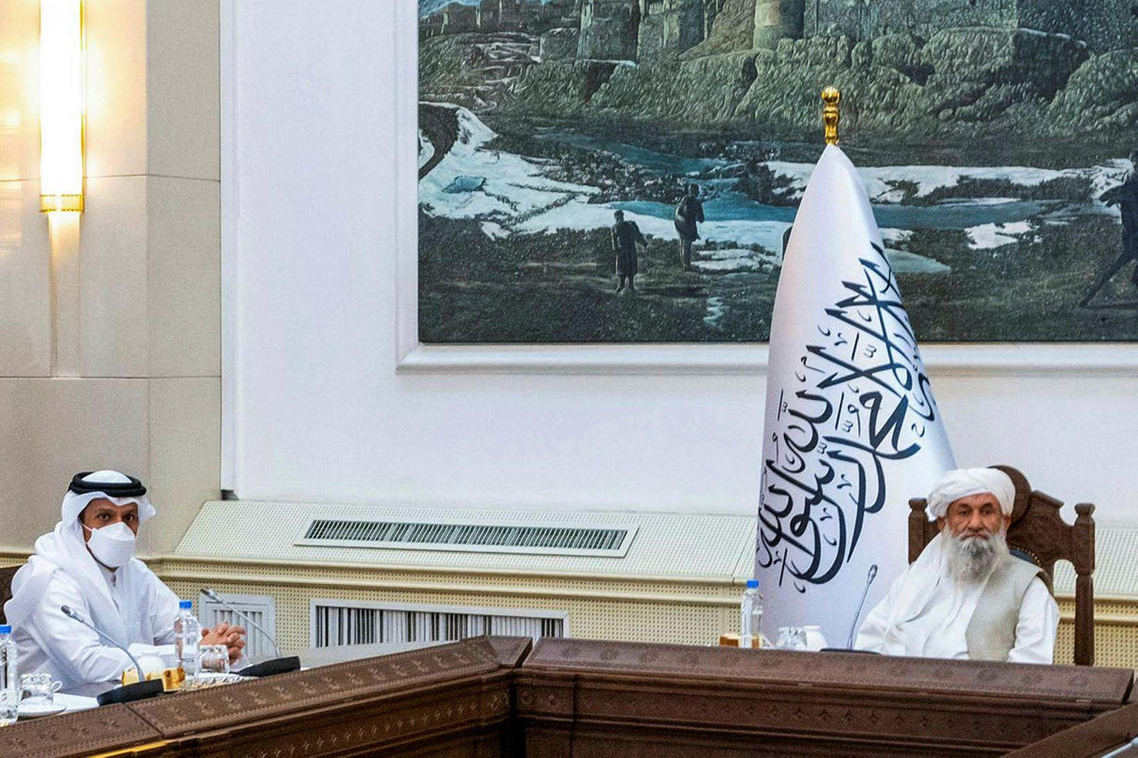 Sheikh Mohammed bin Abdulrahman Al-Thani, utanríkisráðherra Katar.