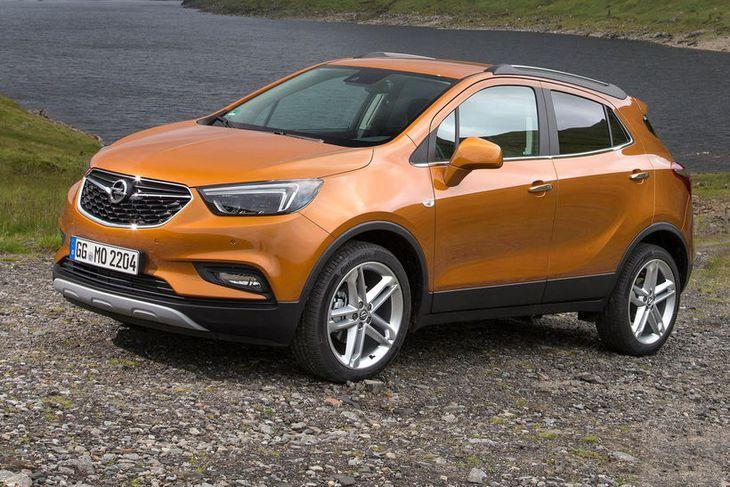 Opel Mokka X verður frumsýndur nk. laugardag hjá Bílabúð Benna..
