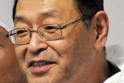 Masao Yoshida, fyrrverandi yfirmaður í kjarnorkuverinu í Fukushima, lést í morgun. Myndin er tekin í …