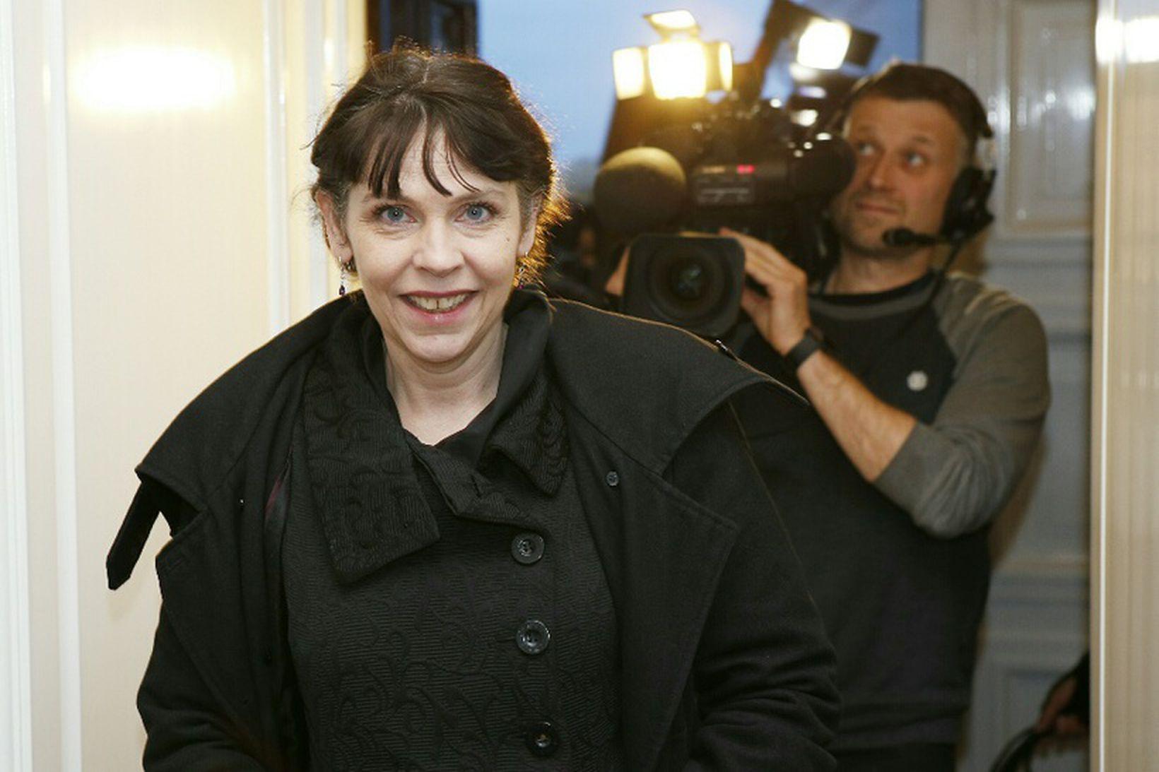 Birgitta Jónsdóttir, þingflokksformaður Pírata.
