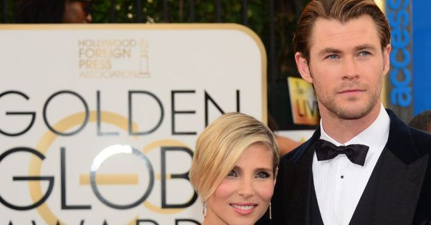 Chris Hemsworth og Elsa Pataky.