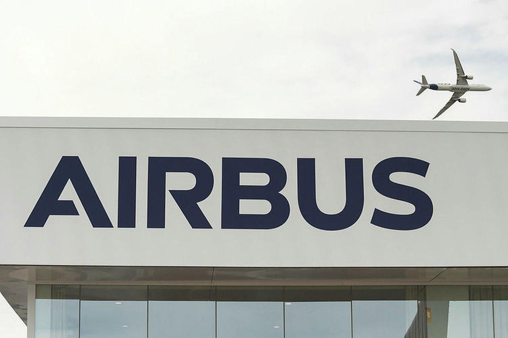 Flugvélaframleiðandinn Airbus sagði upp 16 starfsmönnum vegna meintra njósna sem …