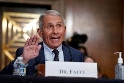 Dr. Anthony Fauci er yfirmaður ofnæmis- og smitsjúkdómastofnunar Bandaríkjanna.
