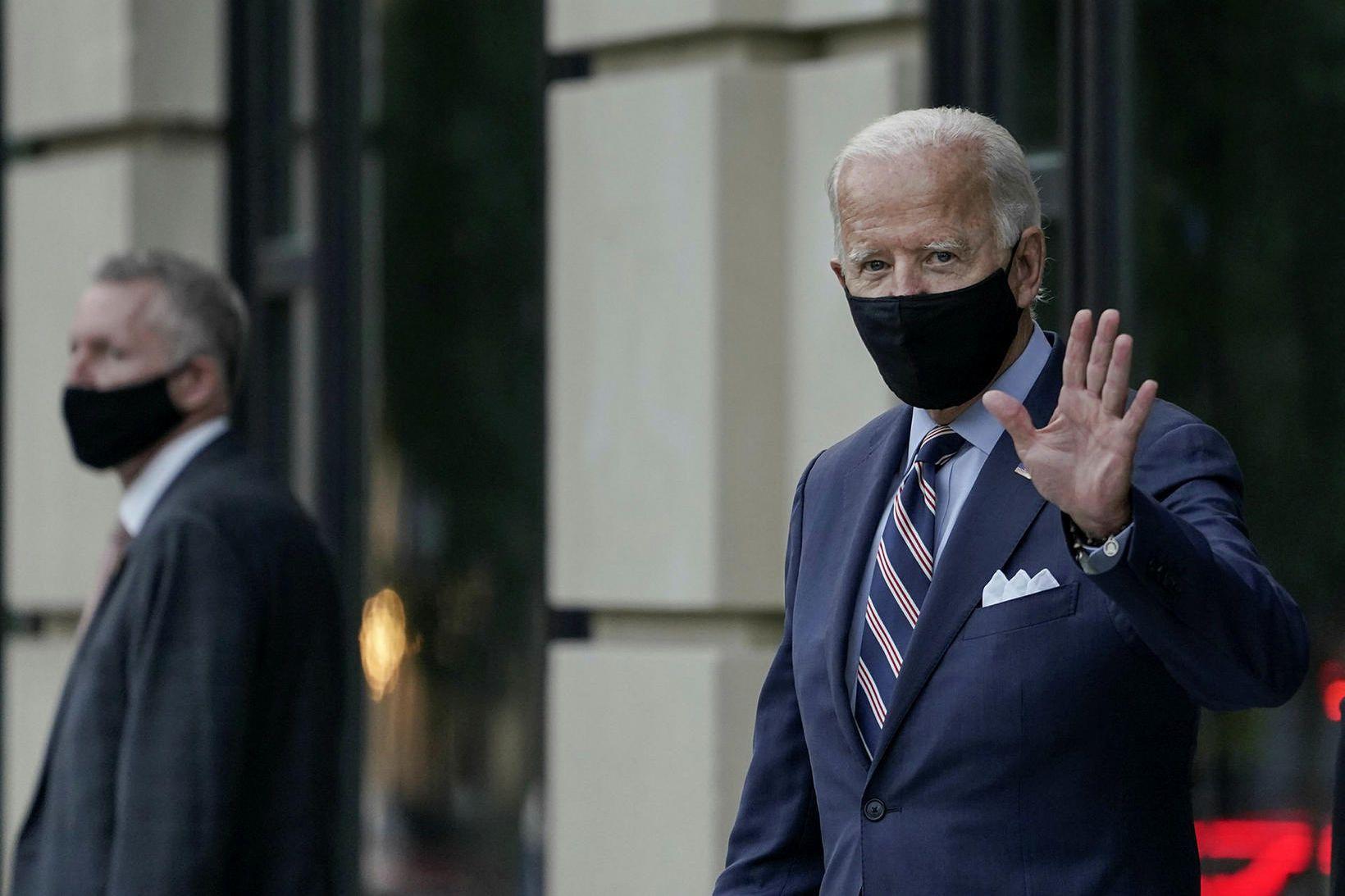 Joe Biden, forsetaframbjóðandi demókrata.