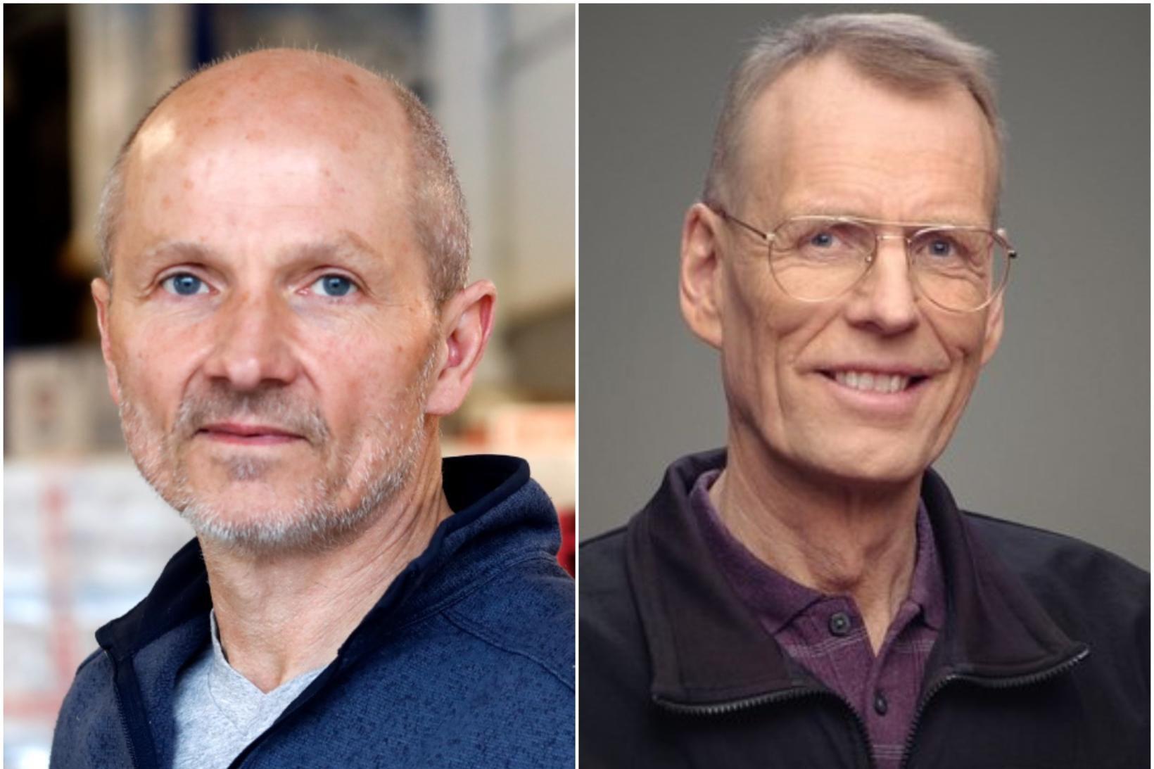 Arnar Sigurðsson og Ívar Arndal.