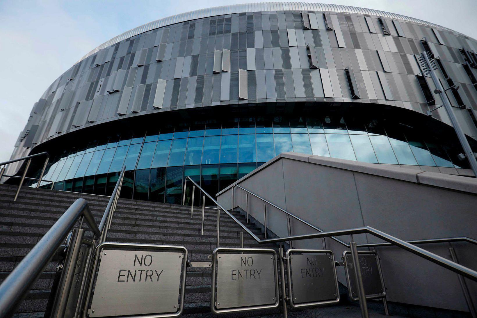 Heimavöllur Tottenham Hotspur í London.