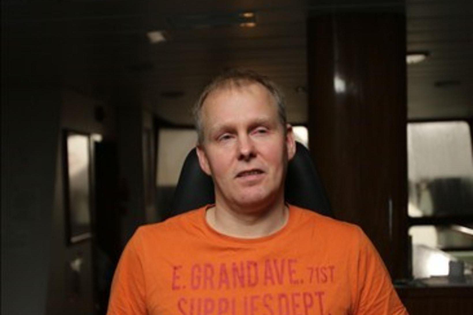 Hjörvar Hjálmarsson, skipstjóri á Berki NK, segir kolmunnan sem nú …
