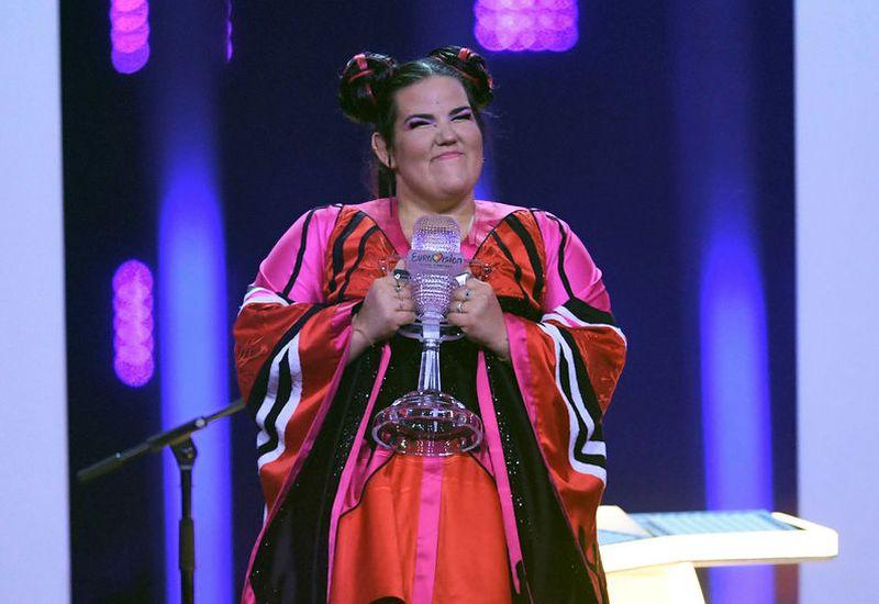Netta, the winner of Eurovision last Saturday.