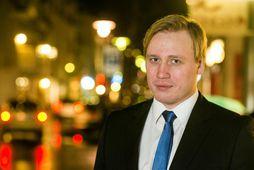 Teitur Björn Einarsson, þingmaður Sjálfstæðisflokksins.