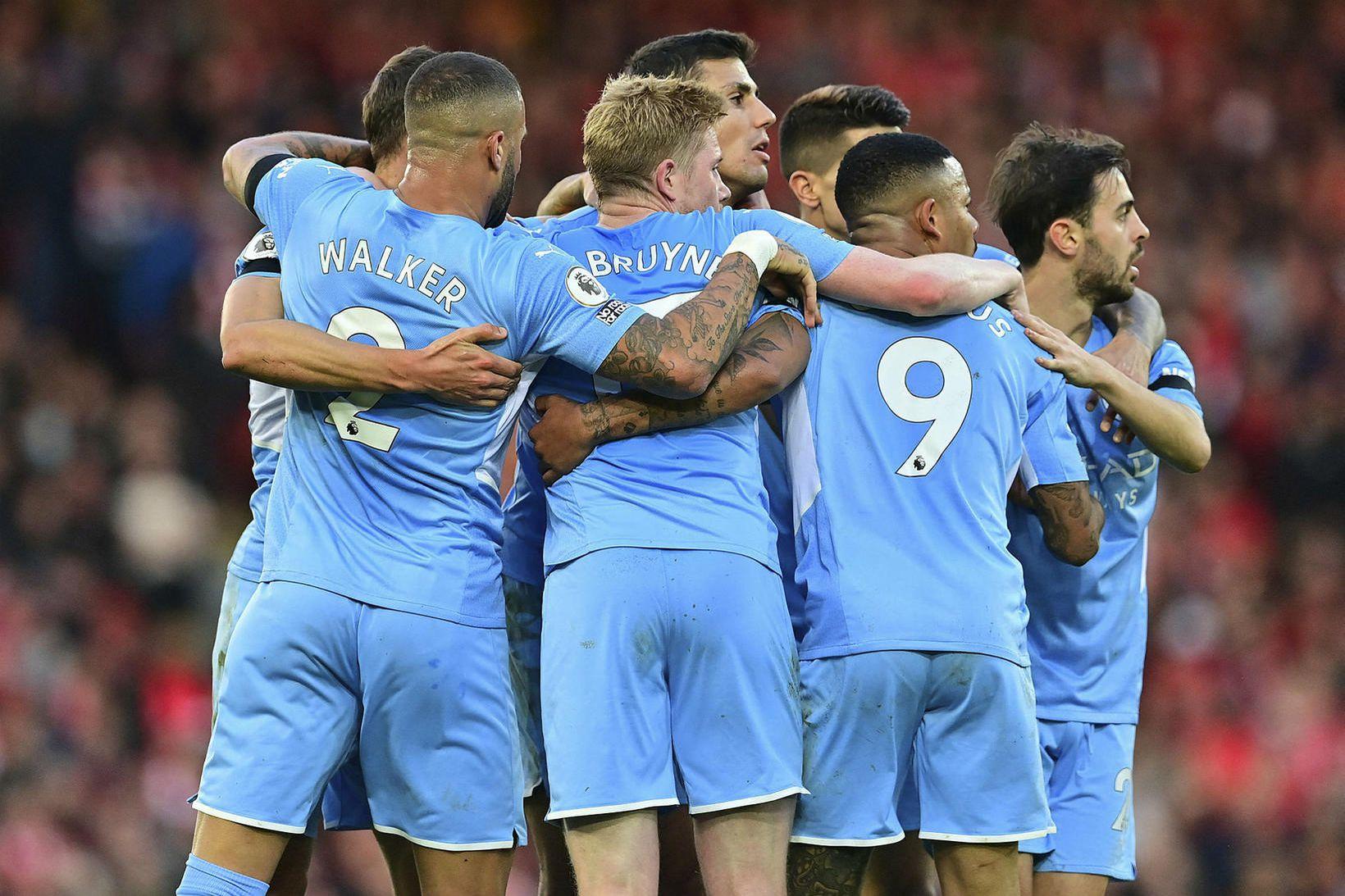 Manchester City er með verðmætasta leikmannahóp í Evrópu.