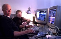 Anders Refn og Sigvaldi Kárason