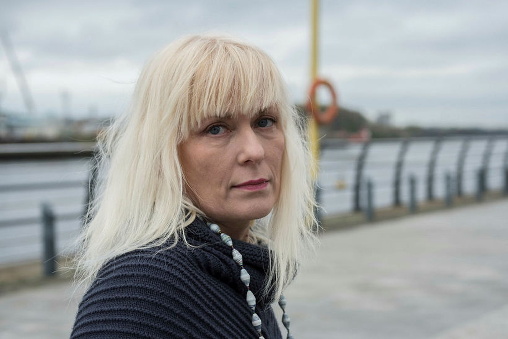 Eva Hauksdóttir er einn fjölskyldumeðlima sem undirritar yfirlýsinguna.