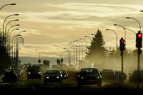There's been great discussion lately about the heightened presence of small airborne particles in Reykjavik.